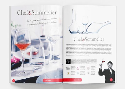 Katalogi Chef and Sommelier