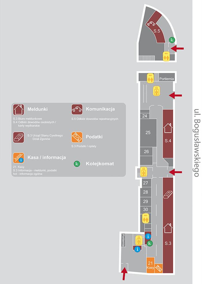 mapy urzędów projekty graficzne