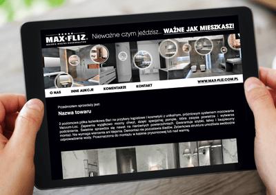 Szablon Allegro Max-Fliz
