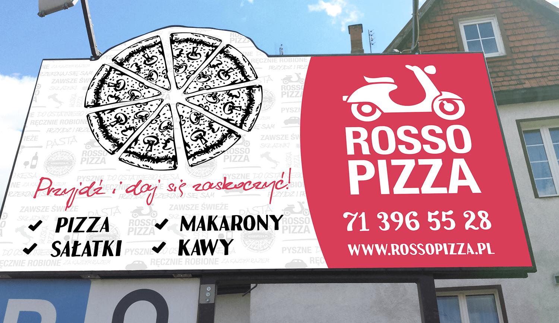 BILBOARD DLA ROSSO PIZZA