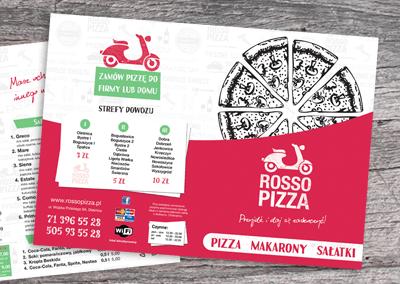materiały reklamowe dla rosso