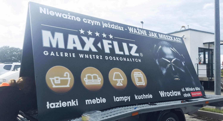 przyczepa reklamowa outdoor wrocław