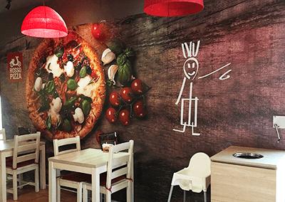 Fototapeta dla rosso pizza