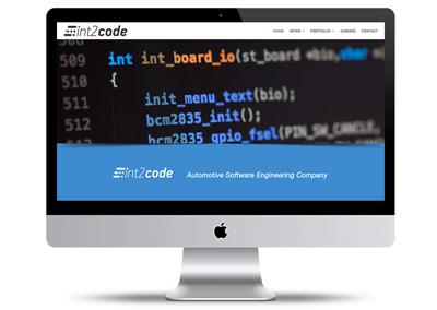 Strona internetowa dla int 2 code