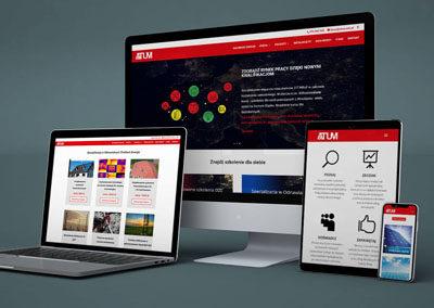 Strona internetowa ATUM EDU