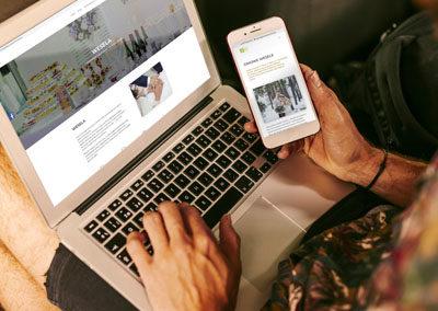 Strona internetowa dla Azylu