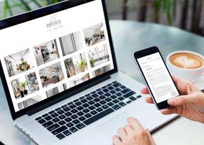 Strona internetowa JS Design