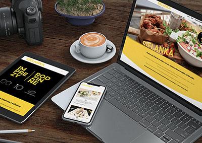 Strona internetowa dla Sielanki
