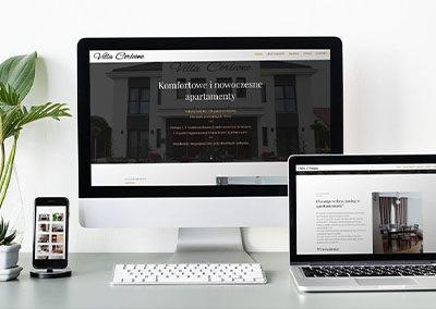 Strona internetowa dla Villi Corleone
