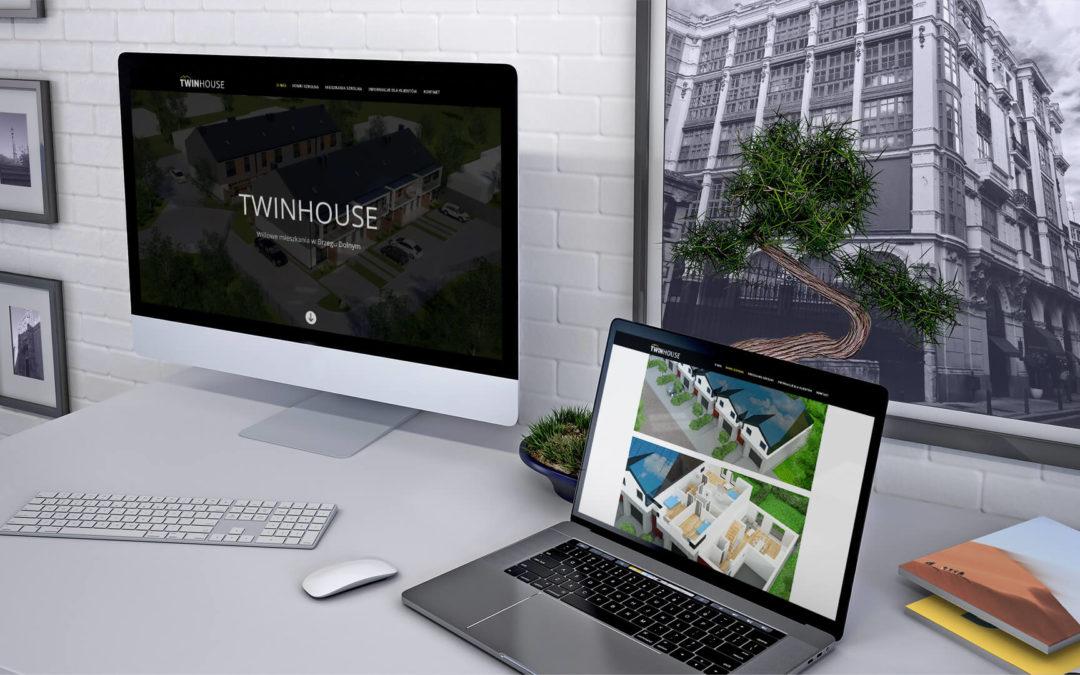 Strona internetowa TwinHouse