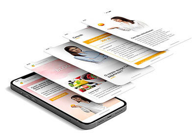 Strona internetowa dla dietetyczki Anny Andrysiak-Szymańskiej